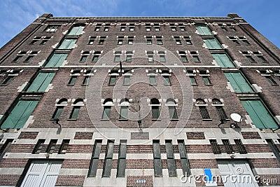 Historic Warehouse in Rotterdam, Holland