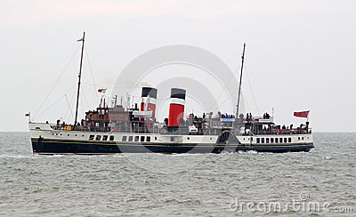 Historic waverley paddle steamer boat Editorial Stock Image