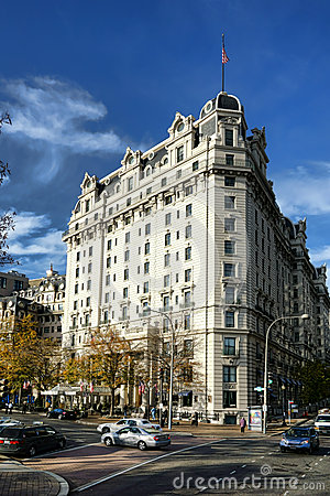 Historic Willard Hotel Landmark in Washington DC