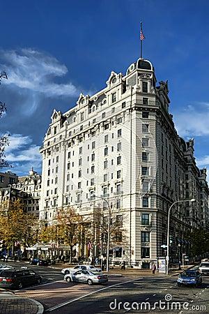 Historic Willard Hotel Landmark in Washington DC