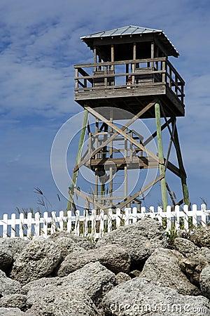 Free Historic World War II Watchtower Stock Photography - 21027812