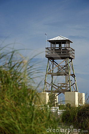 Free Historic World War II Watchtower Royalty Free Stock Images - 21027819