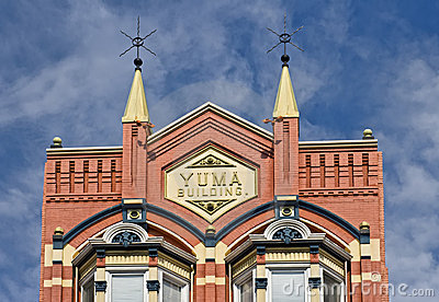 Historic Yuma Building, San Diego Editorial Photo