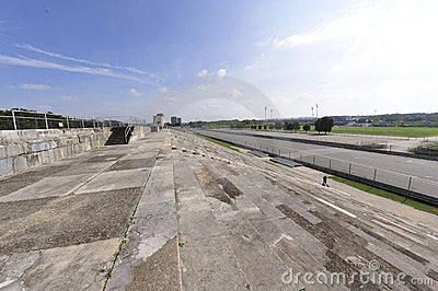 Historic Zeppelin Field  Stock Photos - Image: 10960543