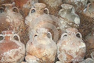 Historical amphoras