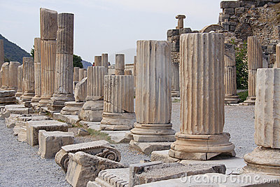 Historical areal Ephesus, Turkey