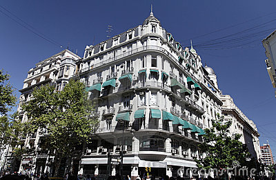Historical Building Buenos Aires