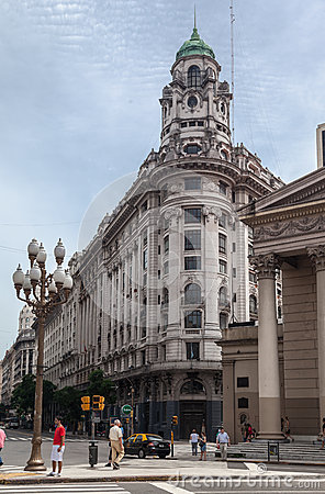 Historical Building Buenos Aires Argentina Editorial Photo