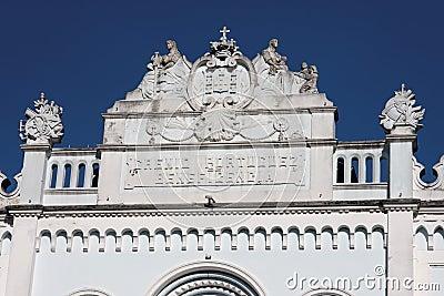 Historical Building Facade Amparo