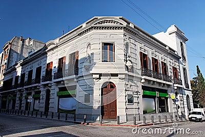 Historical Building Facade in Montevideo