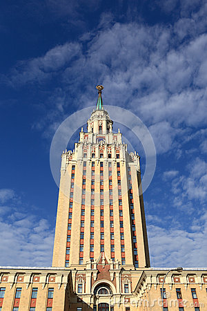Historical building in Moscow