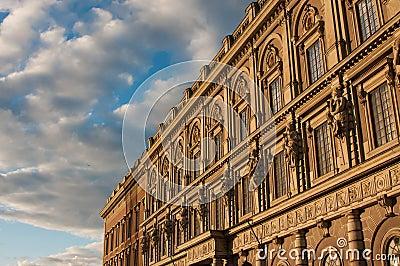 Historical building in Stockholm