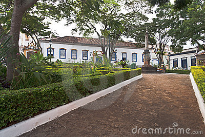 Historical Building in Tirandentes Brazil