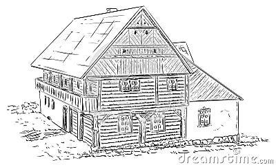 Historical building Vector Illustration