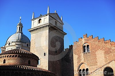 Historical buildings, Mantova, Italy