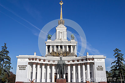 Historical buildings of Moscow