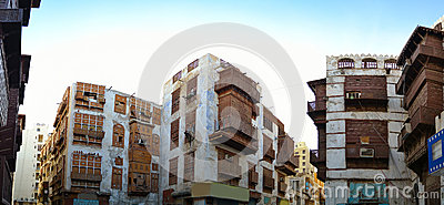 Historical buildings in Old Jeddah