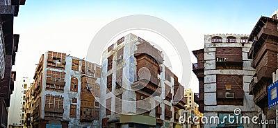 Historical buildings in Old Jeddah