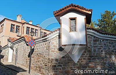 historical buildings Plovdiv (Bulgaria)