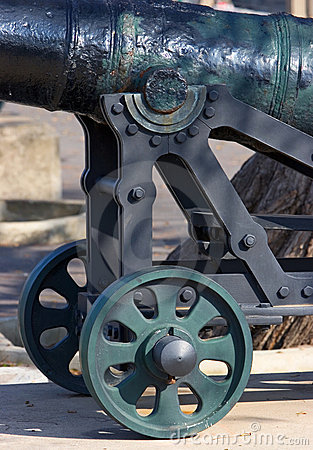Free Historical Cannon In Gibraltar Royalty Free Stock Images - 679869