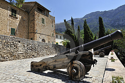 Historical Cannons in Deia