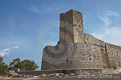 Historical castle of Puglia. Italy.