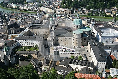 Historical center of Salzburg