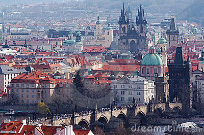 Historical centrum of the Prague