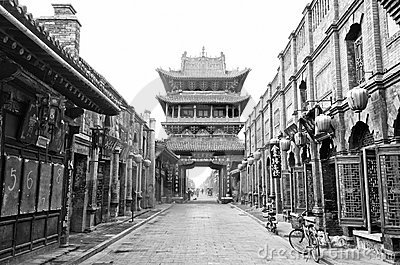 Historical Chinese town