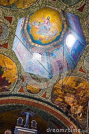 Historical church ceiling