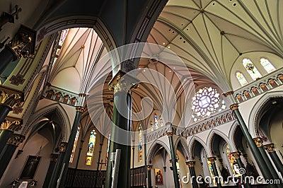 Historical church chamber
