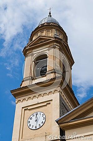 Historical church of Emilia-Romagna. Italy.