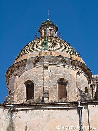 Historical church of Puglia. Italy.