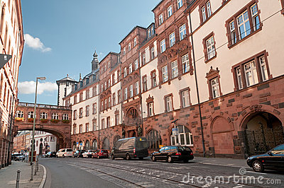 Historical city center,Frankfurt-on-Main,Germany