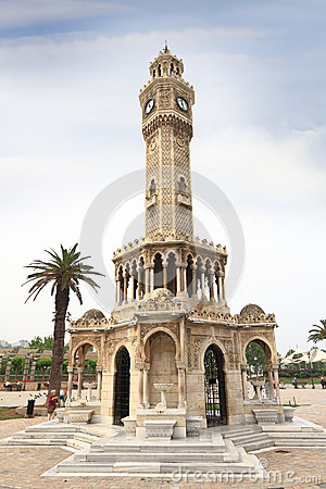 Historical Clock Tower of Izmir