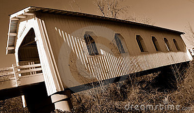 Historical Covered Bridge 2