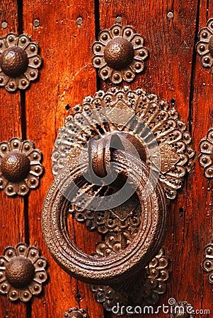 Historical door detail