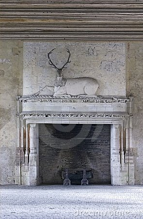 Historical fireplace