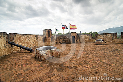 Historical Fortress at Dominican Republic
