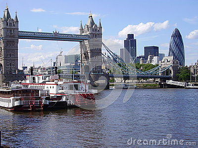 Historical and futuristical in London