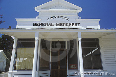 Historical general store Editorial Stock Photo