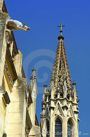 historical gothic architecture background