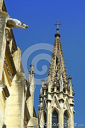 historical gothic architecture background