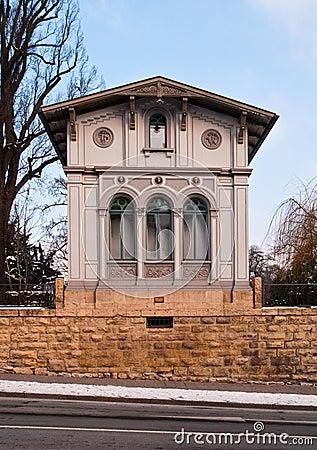 Historical house in Jena