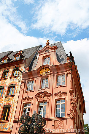 Historical houses in Mainz