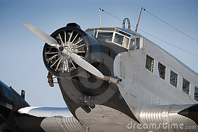 Historical JU 52 aircraft
