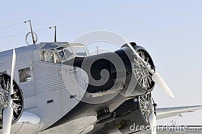 Historical JU 52 aircraft