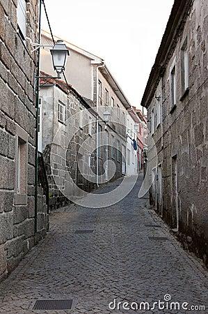 Historical medieval street