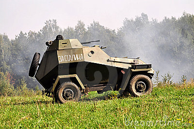 Historical military vehicle