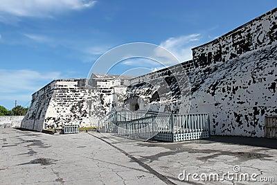 Historical Nassau fort